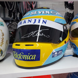 FERNANDO ALONSO 2006 SIGNED DISPLAY HELMET F1 RACING AUTOGRAPHED - SOLD