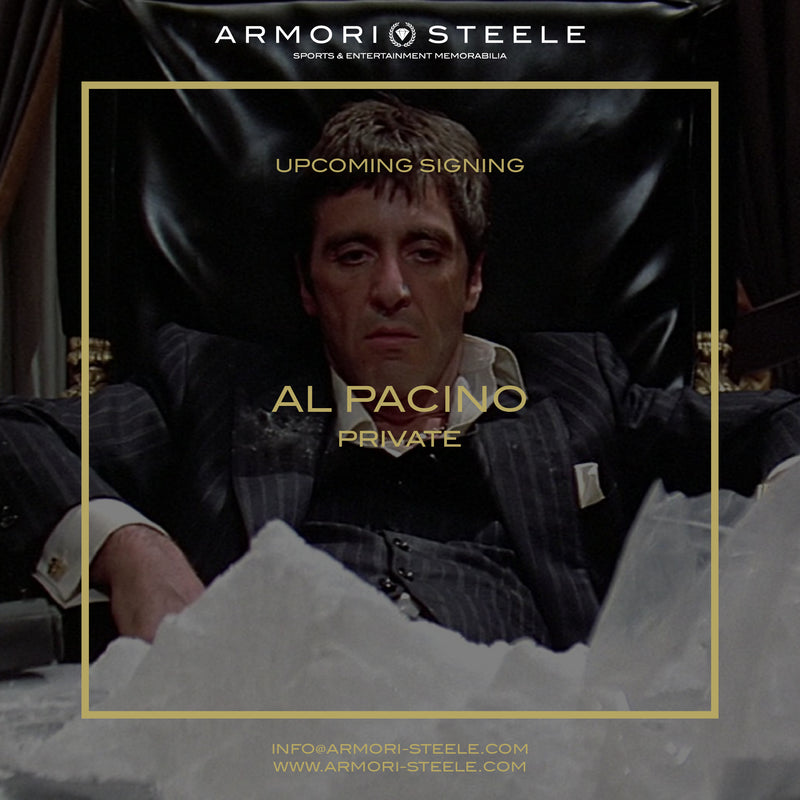 Al Pacino Scarface Signed The World is Yours Statue Premium Autographed