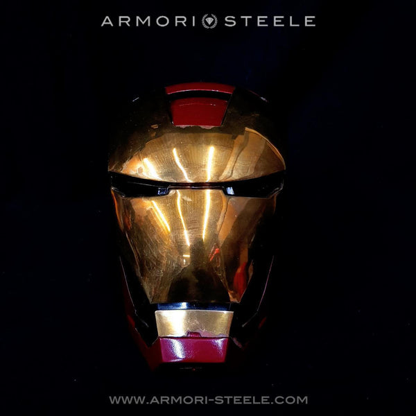 Iron Man Signed Helmet Stan Lee Studios Premium Mark III (260 of 1,500) Autographed Full Scale