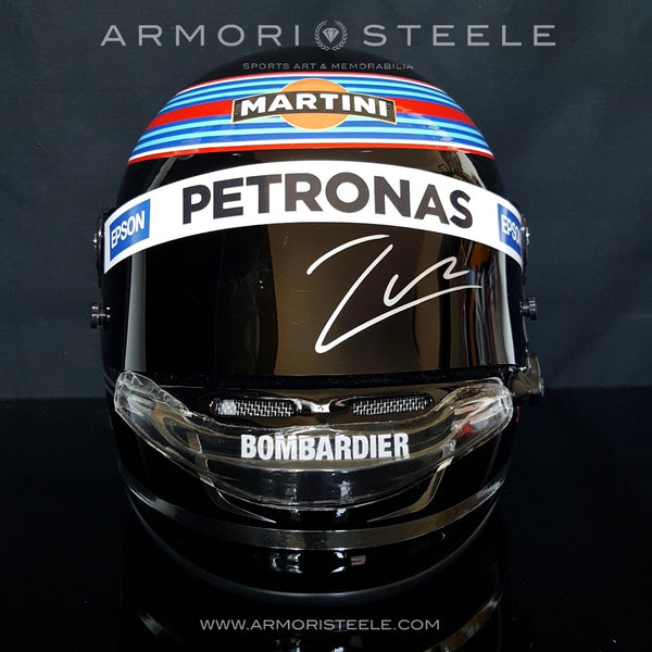 LANCE STROLL 2017 SIGNED AUTOGRAPHED DISPLAY HELMET F1 RACING -SOLD