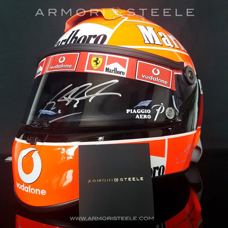 MICHAEL SCHUMACHER 2004 SIGNED AUTOGRAPHED HELMET - F1 DISPLAY EDITION - SOLD
