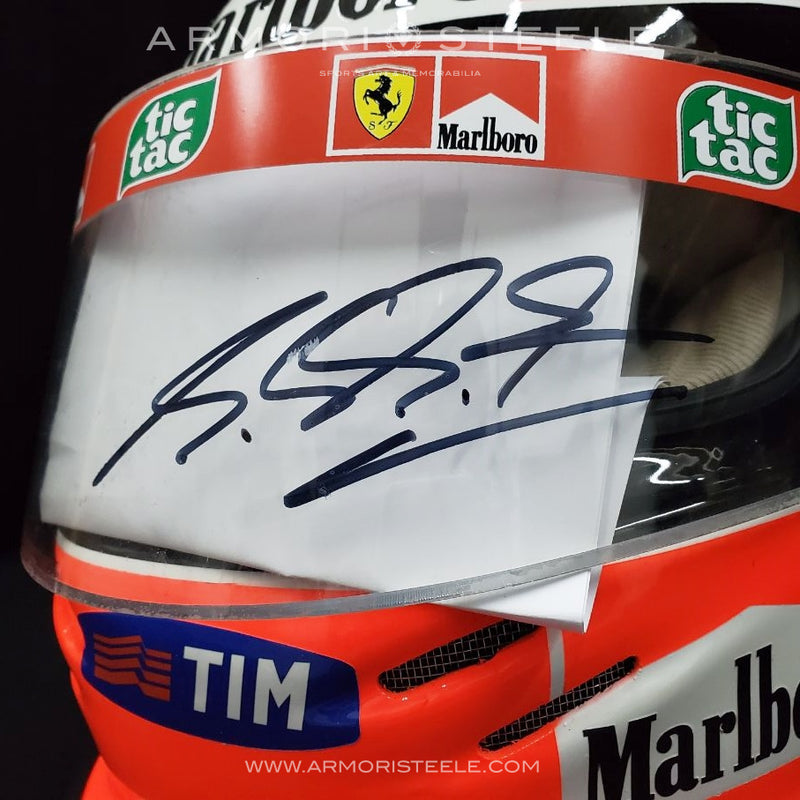 MICHAEL SCHUMACHER 2000 SIGNED AUTOGRAPHED DISPLAY F1 HELMET  1:1 FULL SCLAE DISPLAY - CLEAR VISOR - SOLD