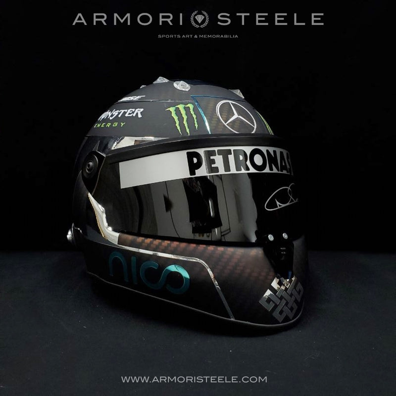 NICO ROSBERG 2016 SIGNED AUTOGRAPHED HELMET F1 DISPLAY EDITION - SOLD