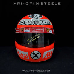 NIKI LAUDA 1977 SIGNED AUTOGRAPHED TRIBUTE HELMET F1 DISPLAY EDITION - GOLD AUTOGRAPH