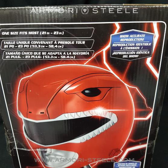 Red Power Rangers Signed Helmet Jason Lee Scott Austin St. John Autographed Full Scale 1:1