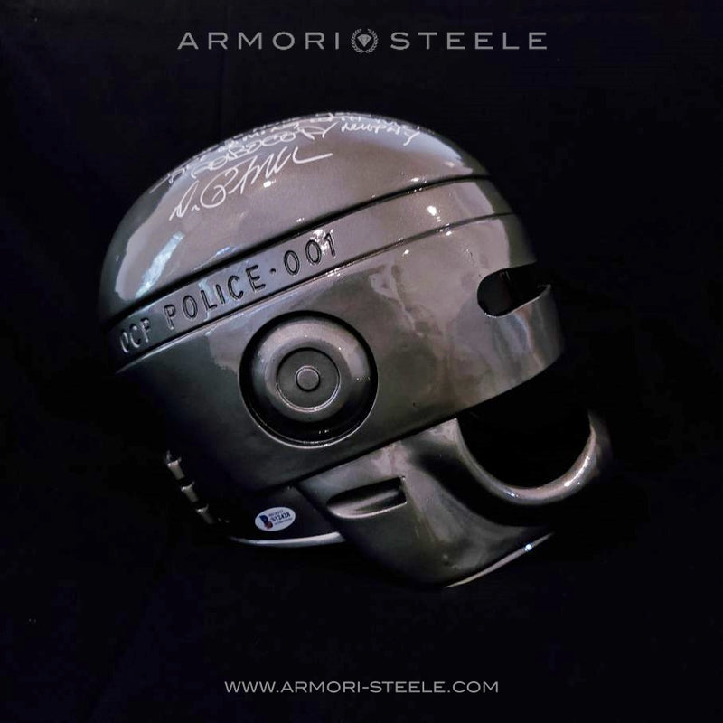 ROBOCOP HELMET SIGNED BY PETER WELLER STANDARD EDITION FULL SCALE 1:1