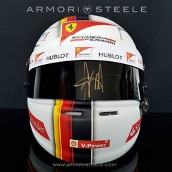 SEBASTIAN VETTEL 2017 SIGNED AUTOGRAPHED HELMET F1 DISPLAY EDITION - SOLD