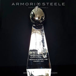 TOM BRADY SIGNED AUTOGRAPHED VINCE LOMBARDI TROPHY - SUPER BOWL LI 51 - 6/12