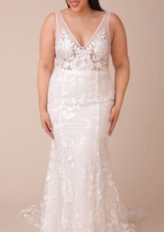 Stevie By Made With Love Wedding Dress - Size 18
