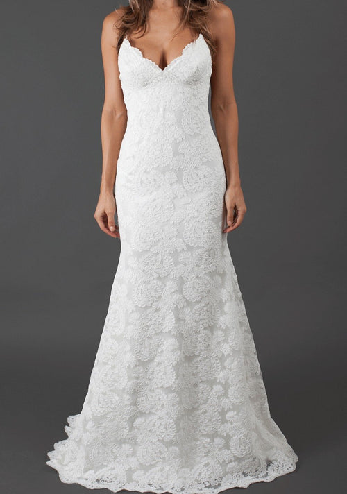 Sparkle Lanai By Katie May Wedding Dress - Size 4