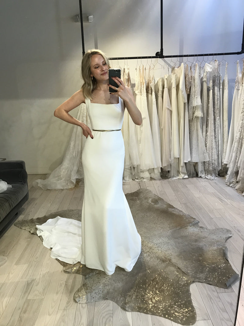Sydney By Alyssa Kristin Wedding Dress - Size 4