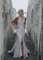 Harlie By Made With Love Wedding Dress - Size 8