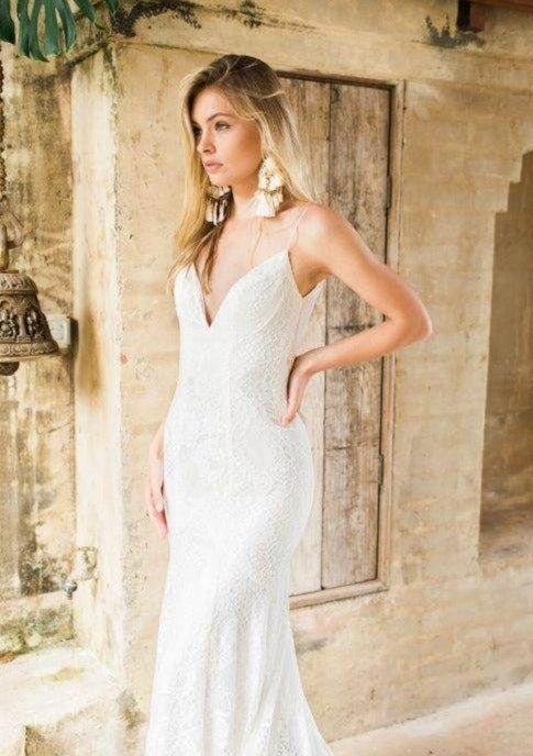 Charlie By Made With Love Wedding Dress - Size 4