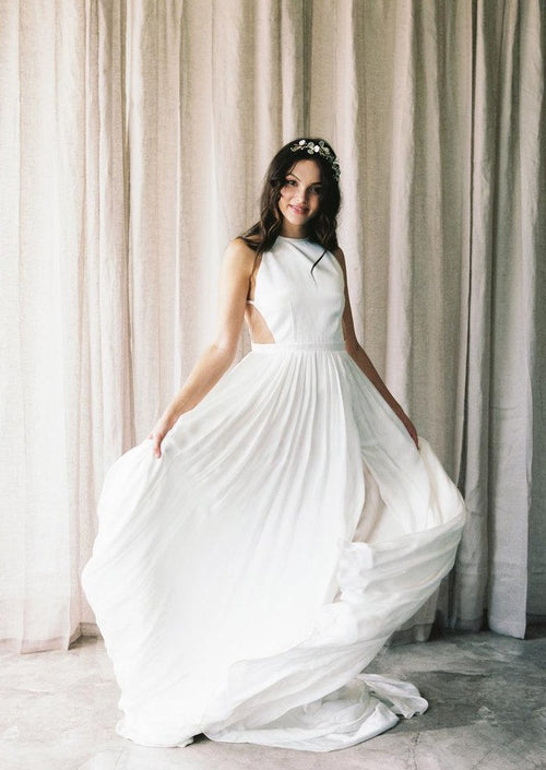 Marley By Alexandra Grecco Wedding Dress - Size 4