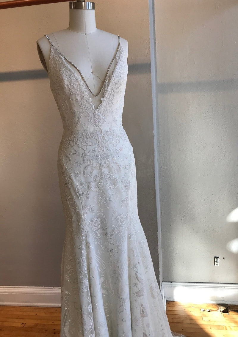 Haruki By Hayley Paige Wedding Dress - Size 6