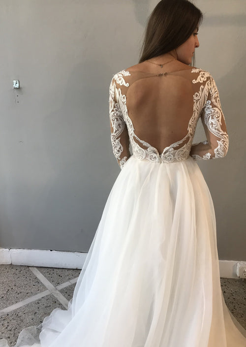 Mulan By Hayley Paige Wedding Dress - Size 6