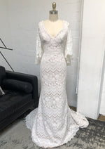 Sandy By Theia Wedding Dress - Size 10