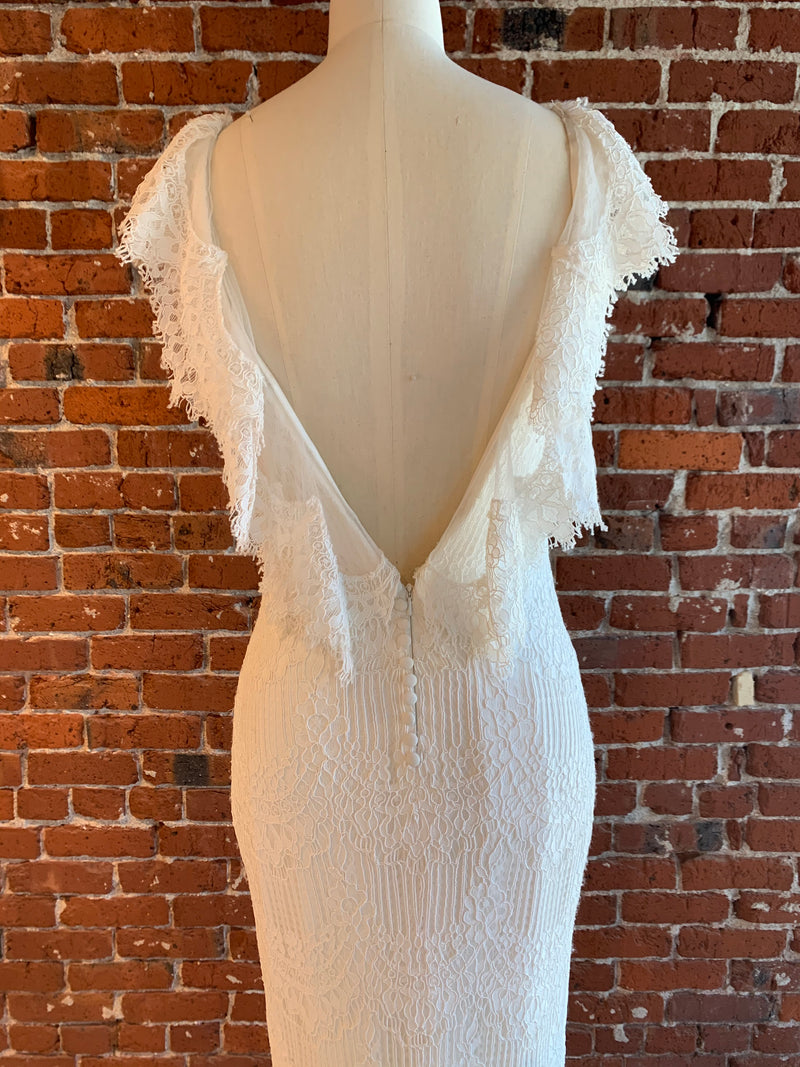 Billie By Made With Love Wedding Dress - Size 10
