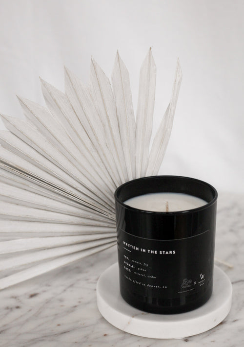Written In The Stars Candle - a&bé x Wooly Wax