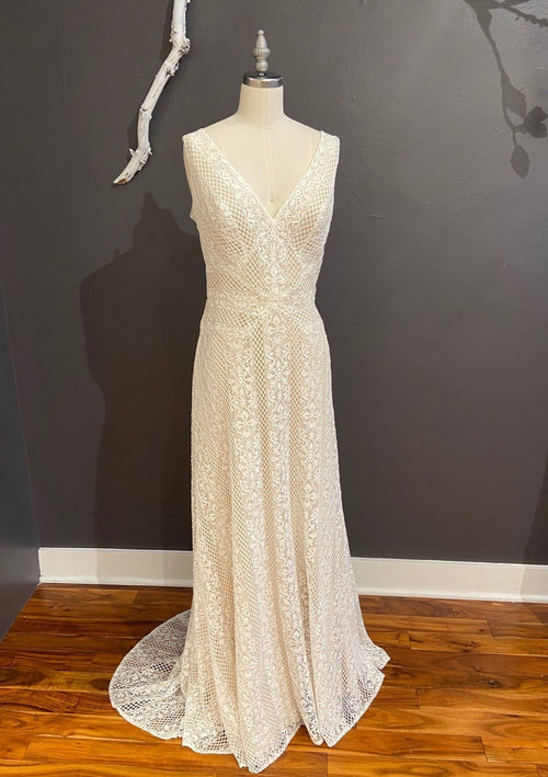 Brighton By Willowby Wedding Dress - Size 12