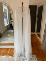 Riley Tulle Cape By Theia - One Size