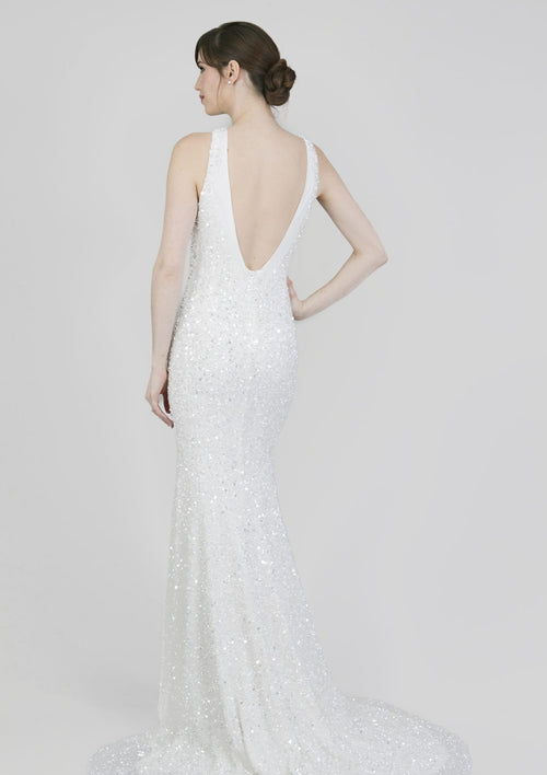 Lenni By Theia Wedding Dress - Size 2