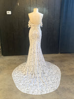 Poppy Stardust By Rue De Seine Wedding Dress - Size 6