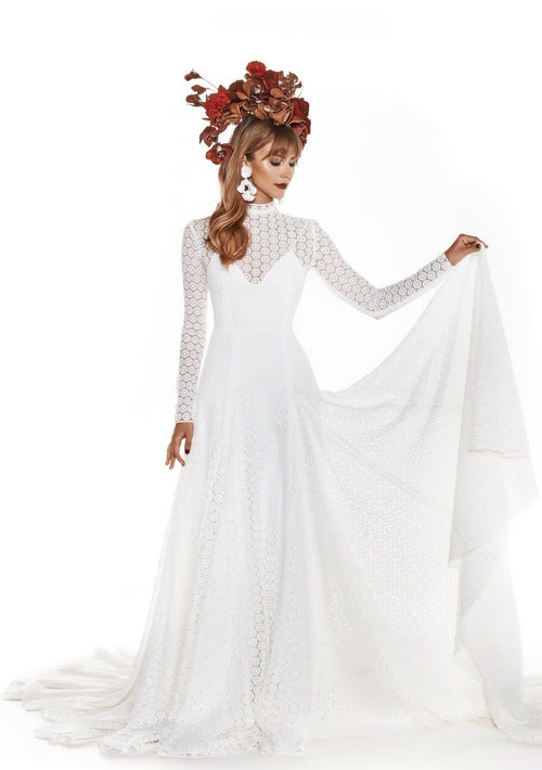 Andromeda By Vagabond Wedding Dress - Size 10