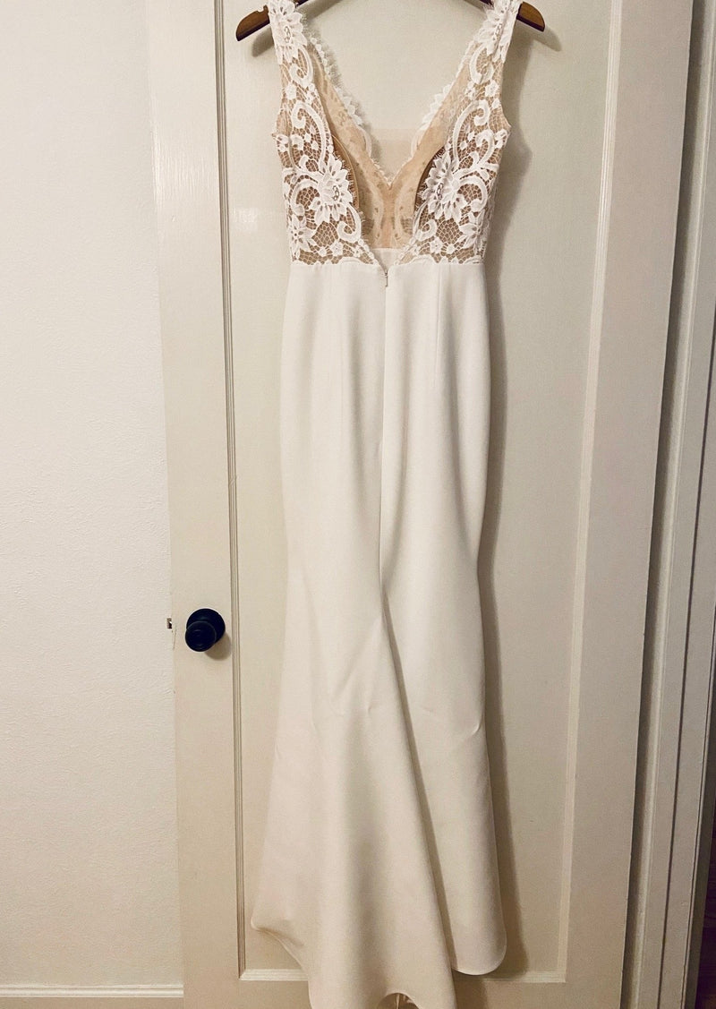 Annalise (Custom) By Anais Anette Wedding Dress - Size 4