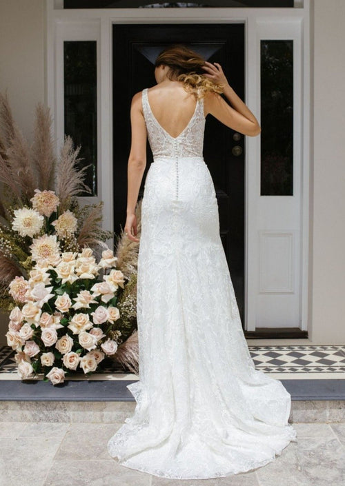 Emeri By Madi Lane Wedding Dress - Size 20