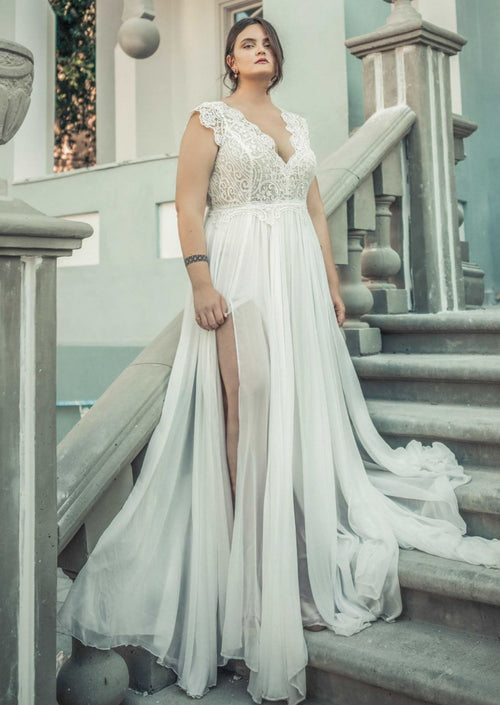 Emma By Rish Wedding Dress - Size 22