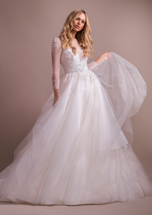 Effie By Hayley Paige Wedding Dress - Size 6