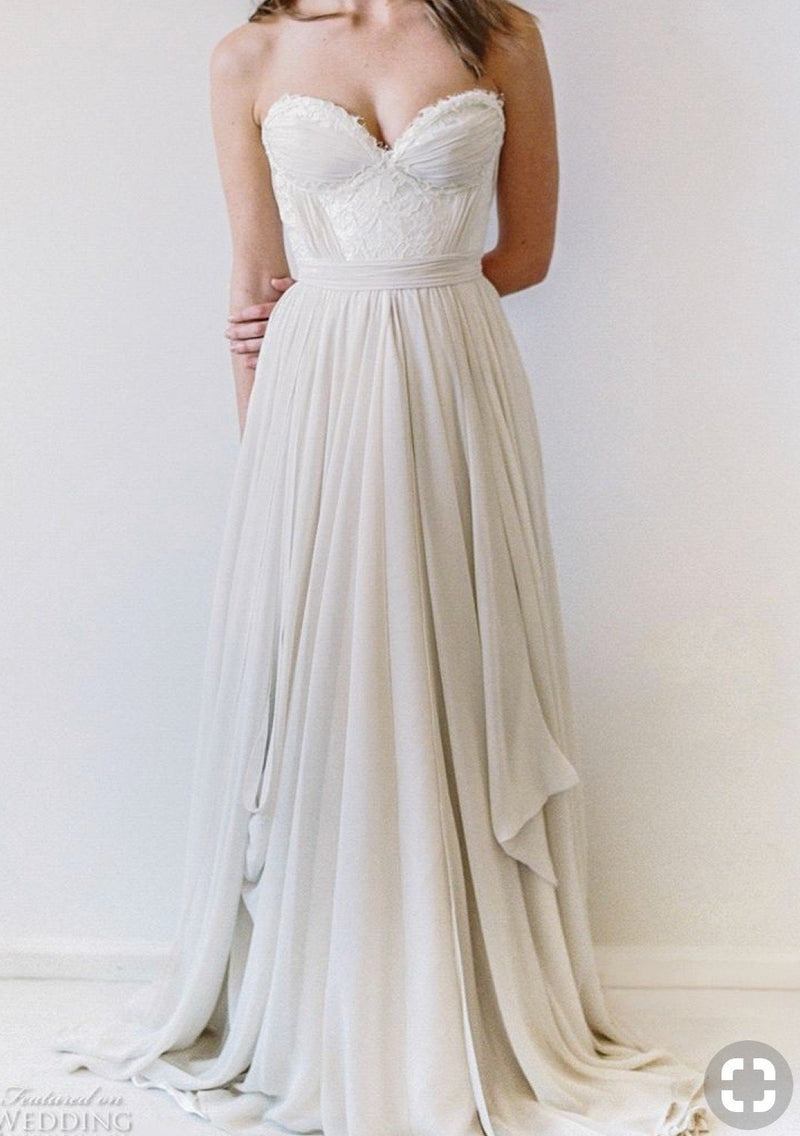 Powell By Truvelle Wedding Dress - Size 8