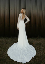 Prince (straight neckline) by The Label Wedding Dress