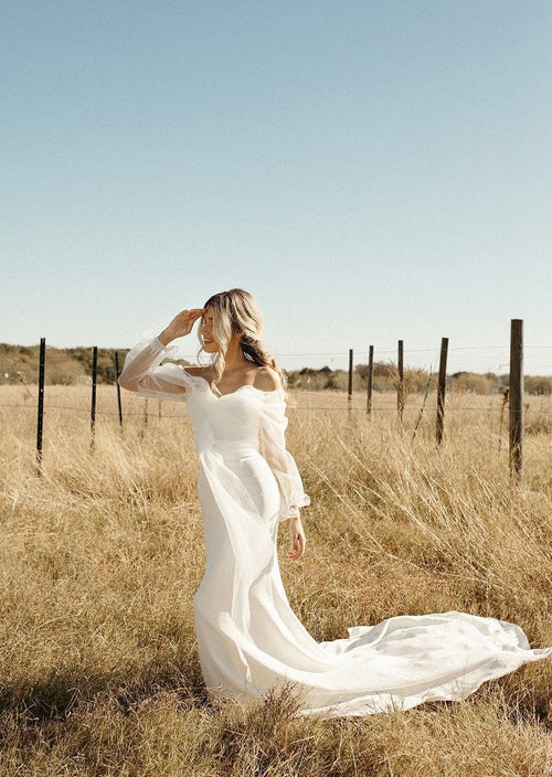 Rose (dress & blouse) by The Label Wedding Dress