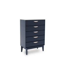 Luna Tall Chest - 5 Drawer