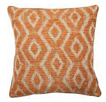 Cushion Brilliant Orange Bali 43 x 43 cm