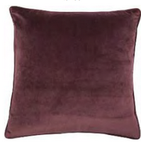 Cushion Mystique Aubergine 50 x 50 cm