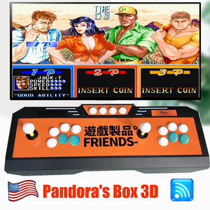 Newest Pandora Box 9D Home Arcade Console 2448 in 1 3D Video Games with WIFI