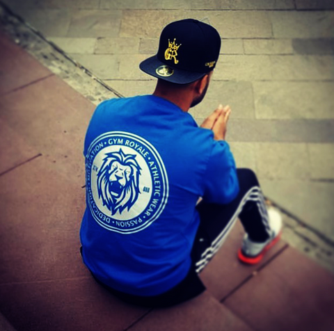Gym Royale®Lion Reflective Sweatshirt