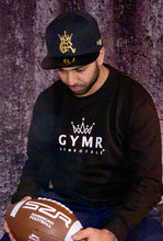 Load image into Gallery viewer, Gym Royale® – GYMR B&W Sweatshirt