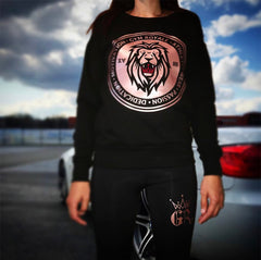 Gym Royale® Rose Gold Sweatshirt