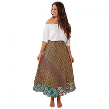 Load image into Gallery viewer, Gypsy Wrap Skirt- Reversible- Full Length