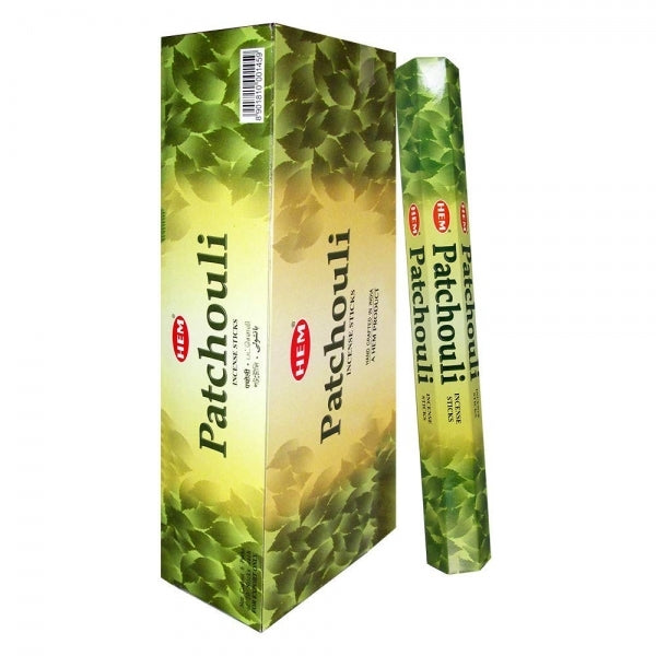 HEM Hexagon Incense Patchouli- Single packet