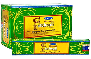 Satya Natural Patchouli incense