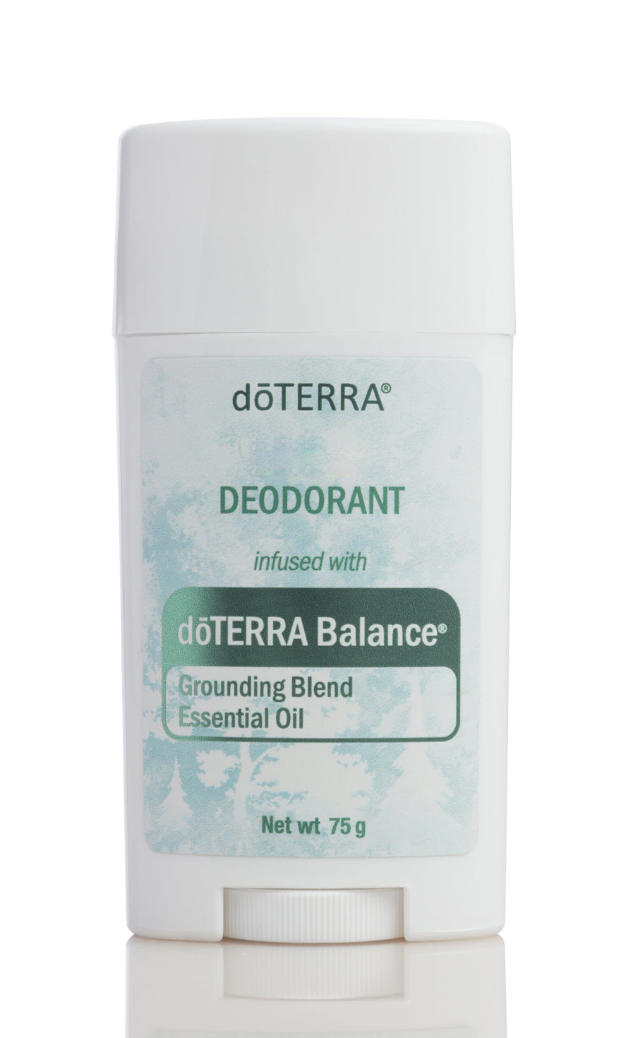 Deodorant infused with dōTERRA Balance® Essential Oil