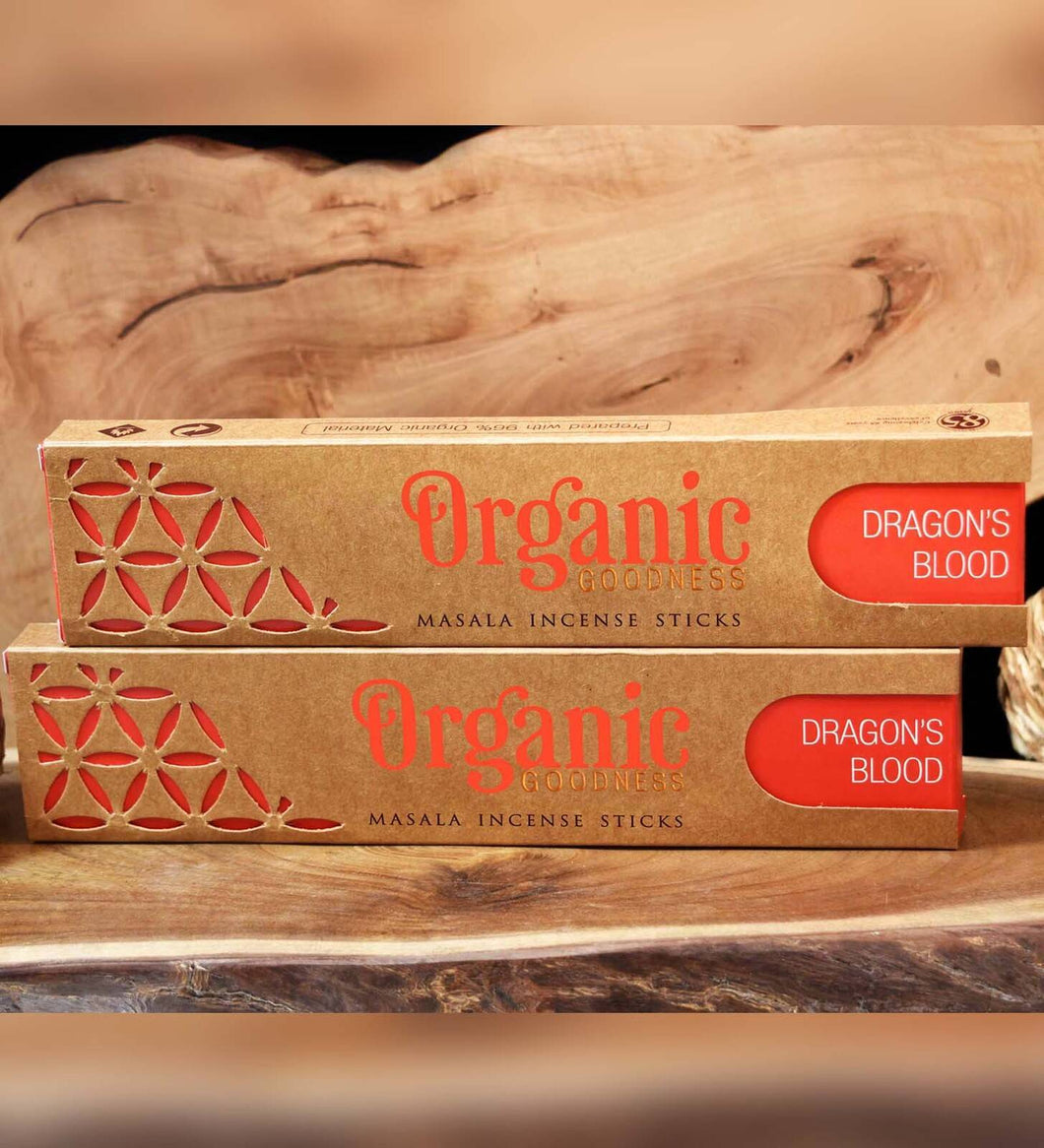 ORGANIC GOODNESS MASALA INCENSE DRAGON'S BLOOD