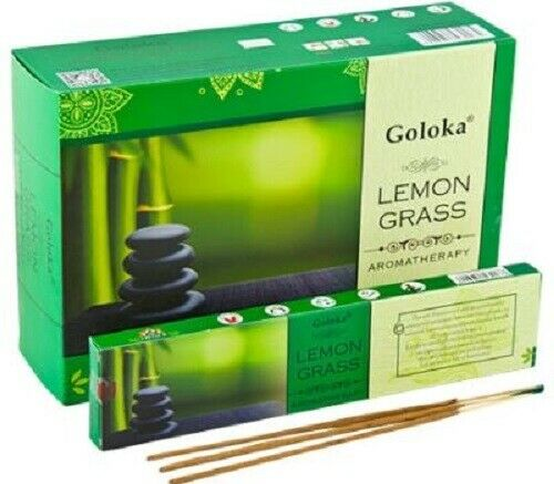 Goloka  Incense Sticks LEMONGRASS- Single Packet