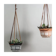 Load image into Gallery viewer, hanging terracotta planter