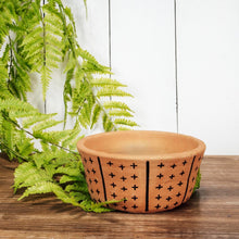 Load image into Gallery viewer, Patterned Terracotta Planter
